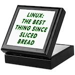 Linux: Sliced bread Keepsake Box