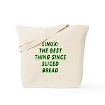 Linux: Sliced bread Tote Bag