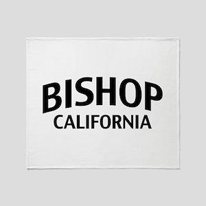 Bishop California Throw Blanket