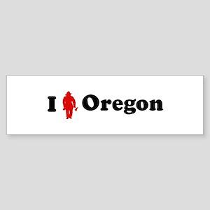 Oregon Firefigher Bumper Sticker