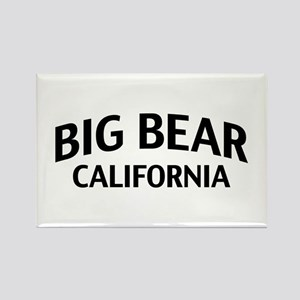 Big Bear California Rectangle Magnet