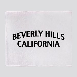 Beverly Hills California Throw Blanket