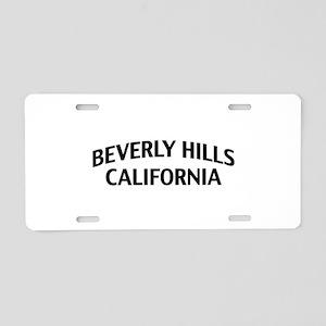 Beverly Hills California Aluminum License Plate