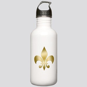 New Orleans Fleur Stainless Water Bottle 1.0L