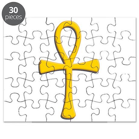 Golden Ankh Puzzle