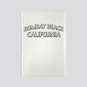 Bombay Beach California Rectangle Magnet