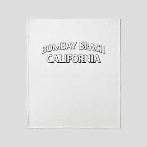 Bombay Beach California Throw Blanket
