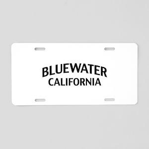 Bluewater California Aluminum License Plate