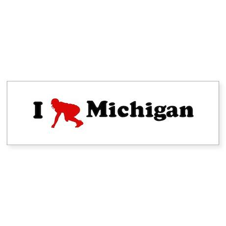Michigan Football Bumper Sticker