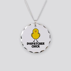 Dispatcher Chick Necklace Circle Charm