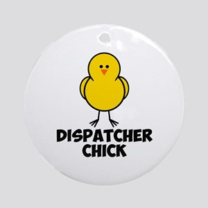 Dispatcher Chick Ornament (Round)