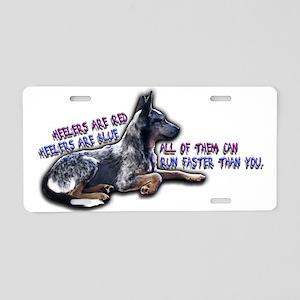 Heeler Verse - Aluminum License Plate