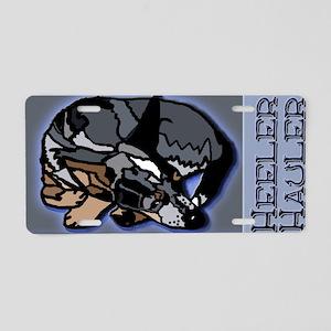 Heeler Hauler - Blue - Aluminum License Plate
