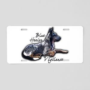 Blue Vigilance - Aluminum License Plate