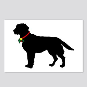 Labrador Retriever Silhouette Postcards (Package o