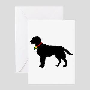 Labrador Retriever Silhouette Greeting Card