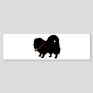 Christmas or Holiday Pomerani Sticker (Bumper)