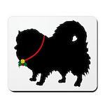 Christmas or Holiday Pomerani Mousepad