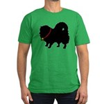 Christmas or Holiday Pomerani Men's Fitted T-Shirt