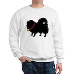 Christmas or Holiday Pomerani Sweatshirt