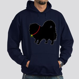 Christmas or Holiday Pomerani Hoodie (dark)