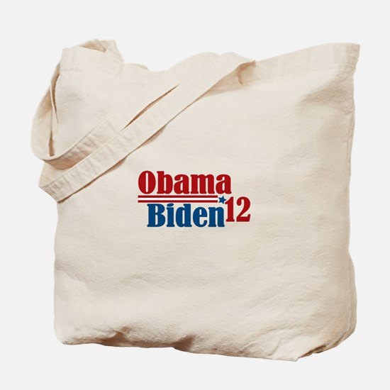 Obama Biden 2012 Tote Bag
