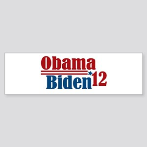 Obama Biden 2012 Sticker (Bumper)
