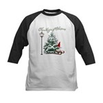 The Magic of Christmas Kids Baseball Jersey