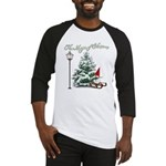 The Magic of Christmas Baseball Jersey