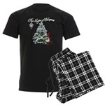 The Magic of Christmas Men's Dark Pajamas