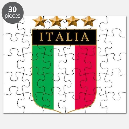 Italian 4 Star flag Puzzle