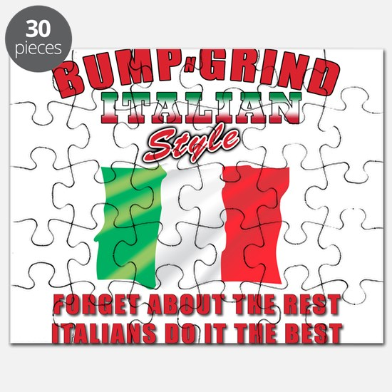 Italian bump and grind Puzzle