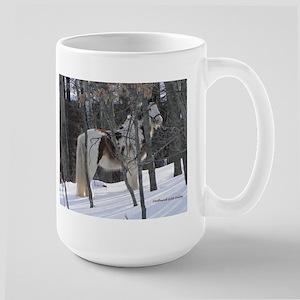 Gypsy in the Snow Large Mug