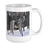 Gypsy in the Snow Large Mug