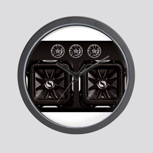 SUBWOOFERS Wall Clock