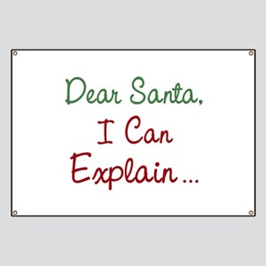 Dear Santa Banner