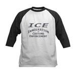 Immigration Customs Enforcement - Kids Baseball J