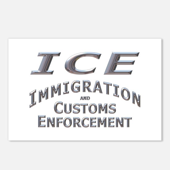 Immigration Customs Enforcement -  Postcards (Pack