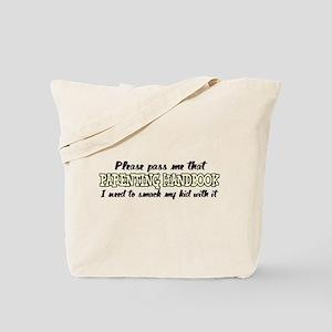 Parenting Handbook Tote Bag