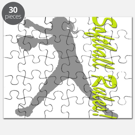 Girls Softball Puzzle