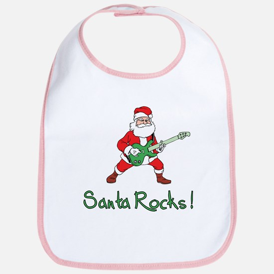 Santa Rocks! Bib