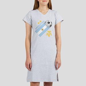 Argentina world cup soccer Women's Nightshirt