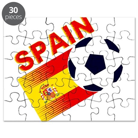 Spainish Soccer Puzzle