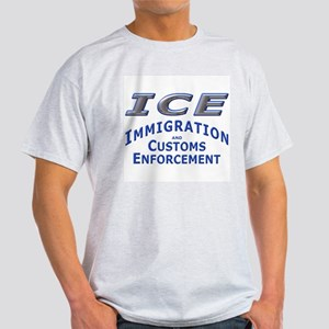 ICE - Immigration & Customs: Ash Grey T-Shirt