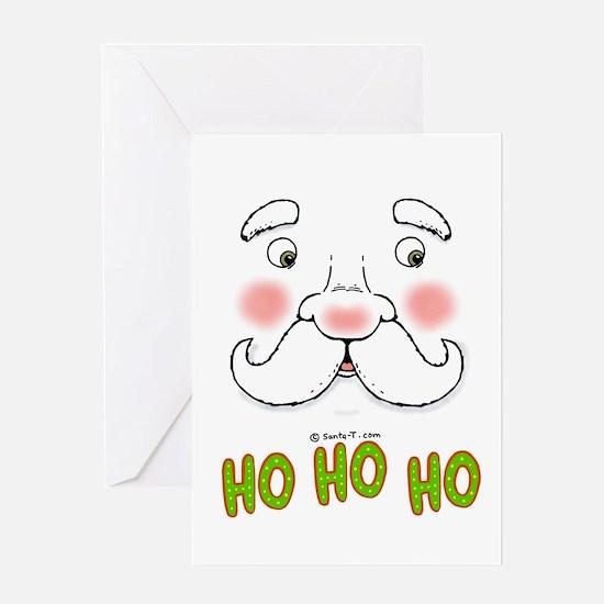 Ho Ho Ho Santa Greeting Card