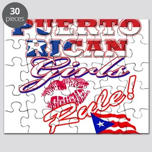 Puerto rican girl Puzzle