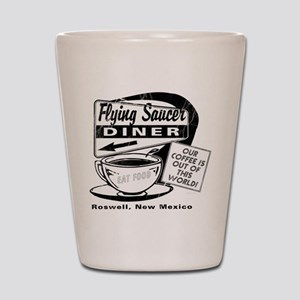 Flying Saucer Diner Shot Glass