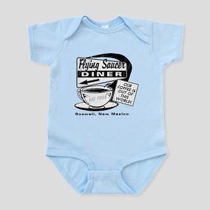 Flying Saucer Diner Infant Bodysuit