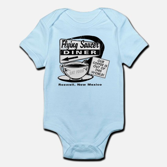 Flying Saucer Diner Infant Bodysuit