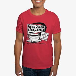 Flying Saucer Diner Dark T-Shirt